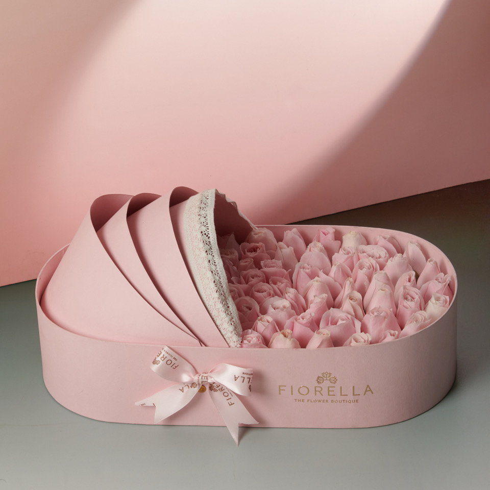 Pink bassinet – 3400